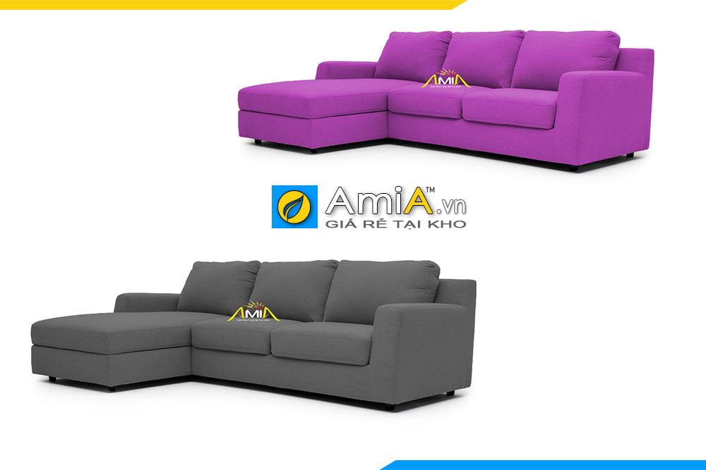 ghế sofa góc vải nỉ đẹp