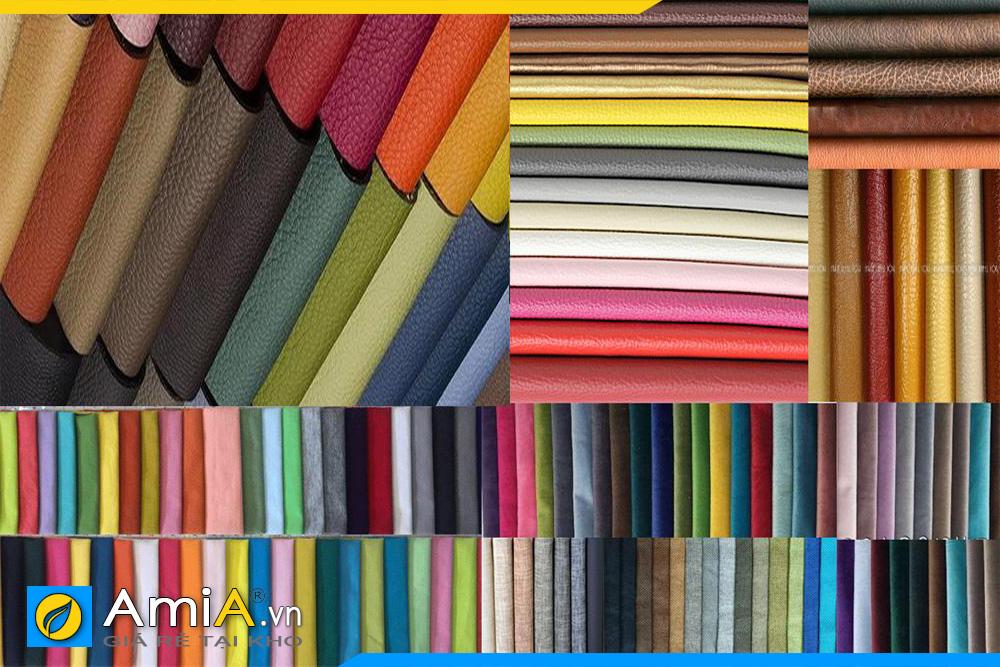 Hơn 400 màu vỉ nỉ và 200 màu da các loại